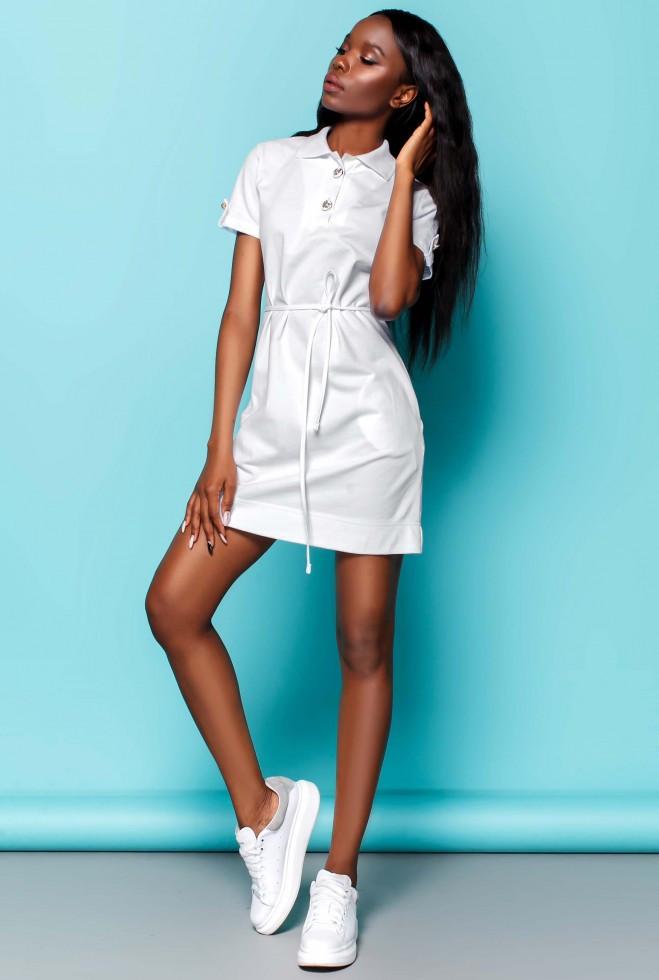 Платье Тарина белый l