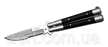 Нож складной, балисонг S095, фото 2