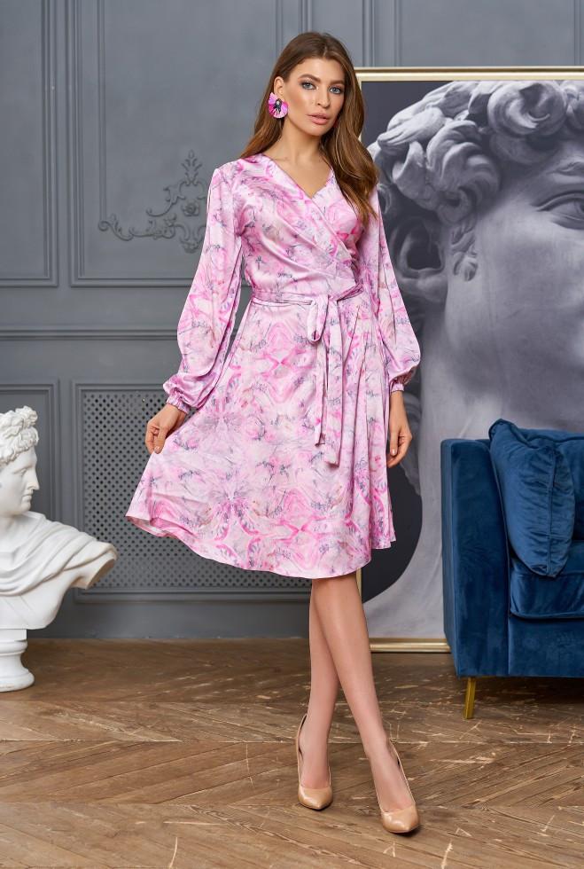 Платье-трансформер Глория розовый l m