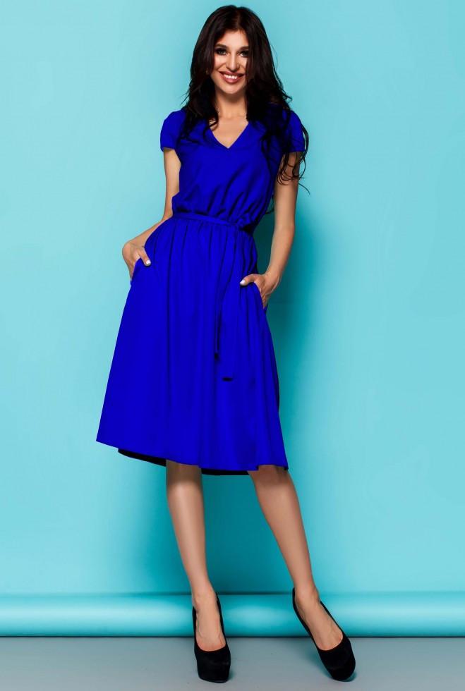 Платье Лина электрик xl