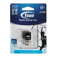Флеш-память USB 16Gb TEAM C12G Black