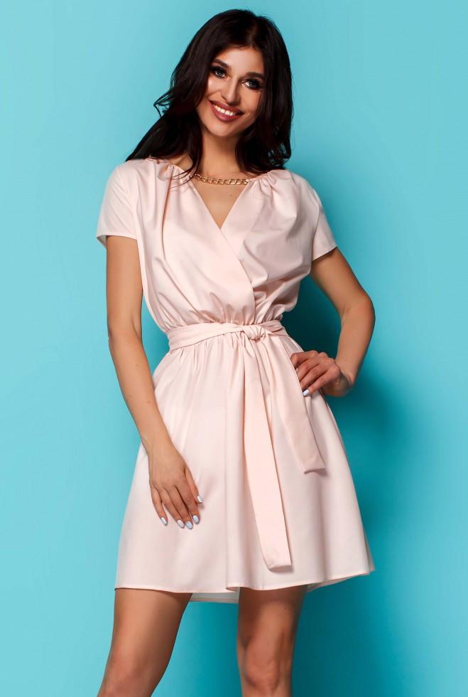 Платье Мелиса персиковый m