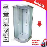 Гидромассажный бокс 90x90x215 см без электроники Atlantis AKL 50P-T (XL) ECO