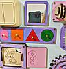 Развивающая доска размер 50*60 Бизиборд для детей 35 элементов!, фото 4