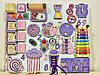 Развивающая доска размер 50*60 Бизиборд для детей 35 элементов!, фото 5