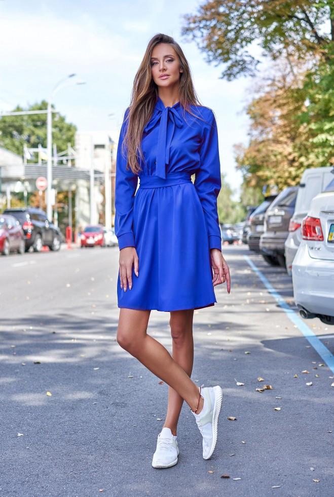 Платье Лалли электрик m