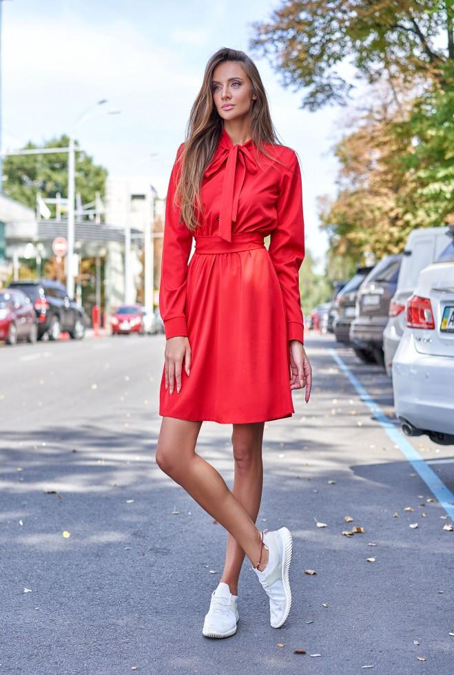 Платье Лалли красный m