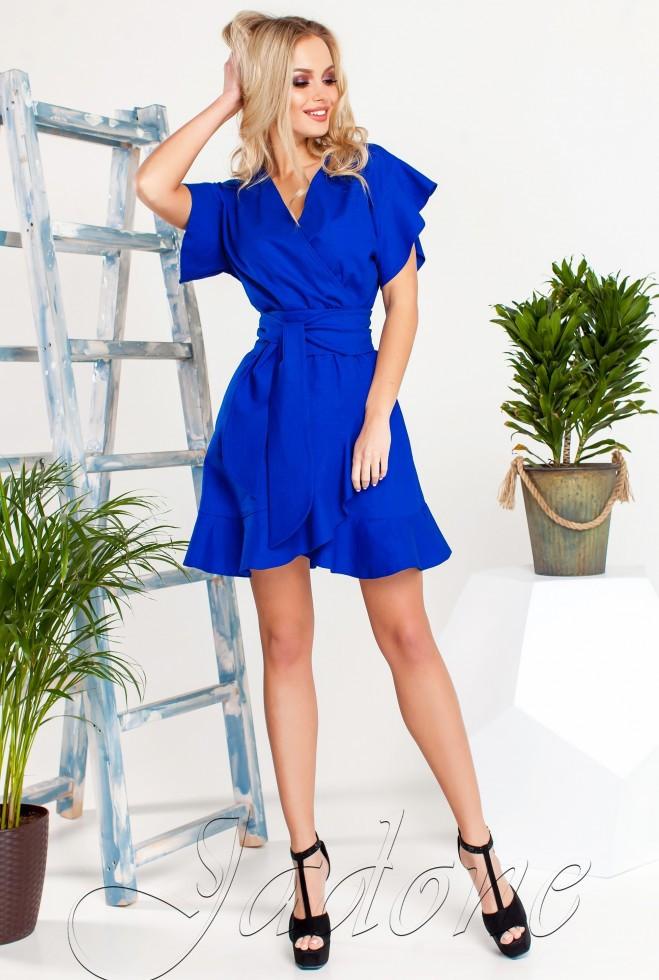 Платье Нарциси синий s