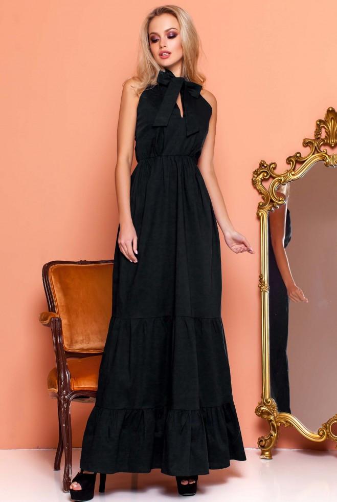 Платье Симбал черный m