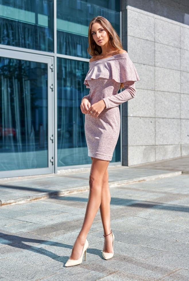 Платье Мика розовый m
