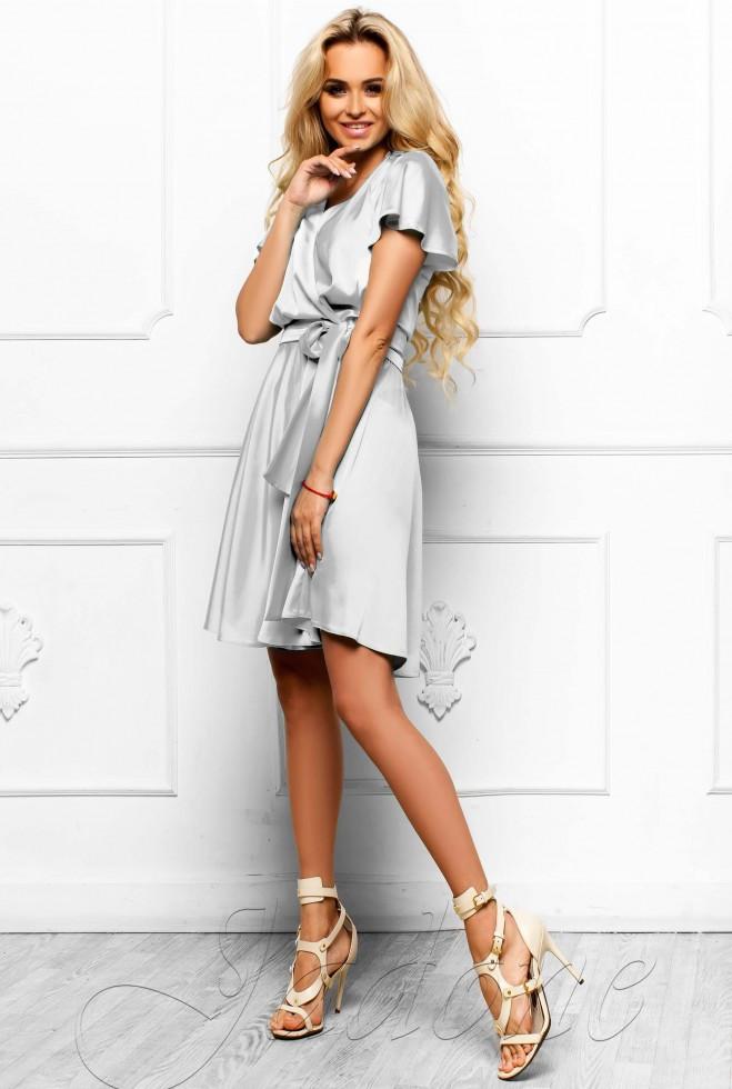 Платье Синди  молочный l