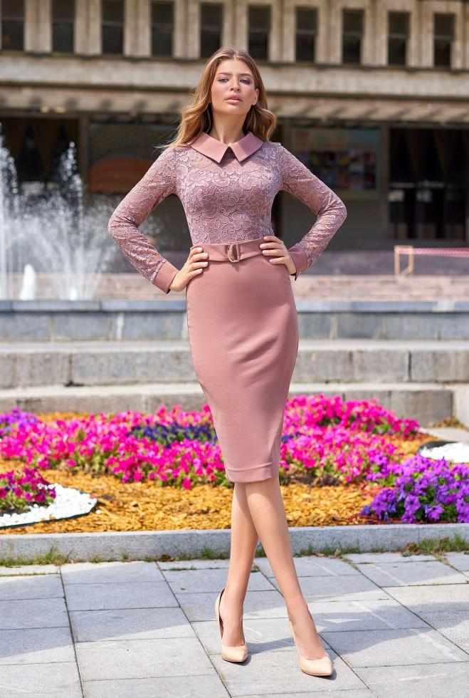Платье Аврора  бежевый s