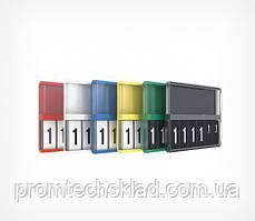 Касета цін формату A8 з блокнотом REGULAR