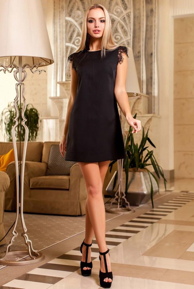 Платье Закира черный xl