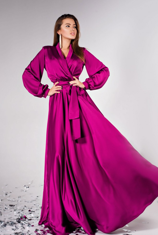 Платье Shine фуксия m