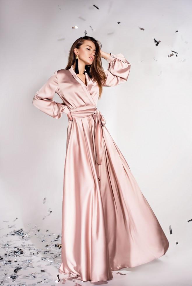 Платье Shine бежевый m