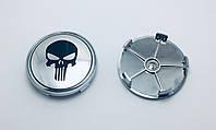 Заглушки ковпачки литих дисків Skull Череп 68мм