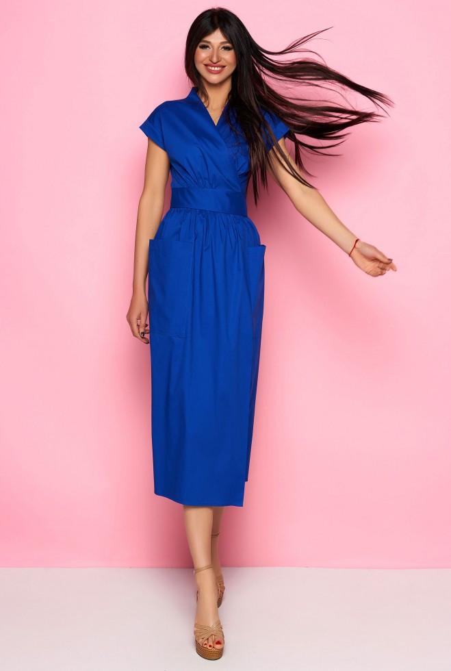 Платье Сьюзи электрик m