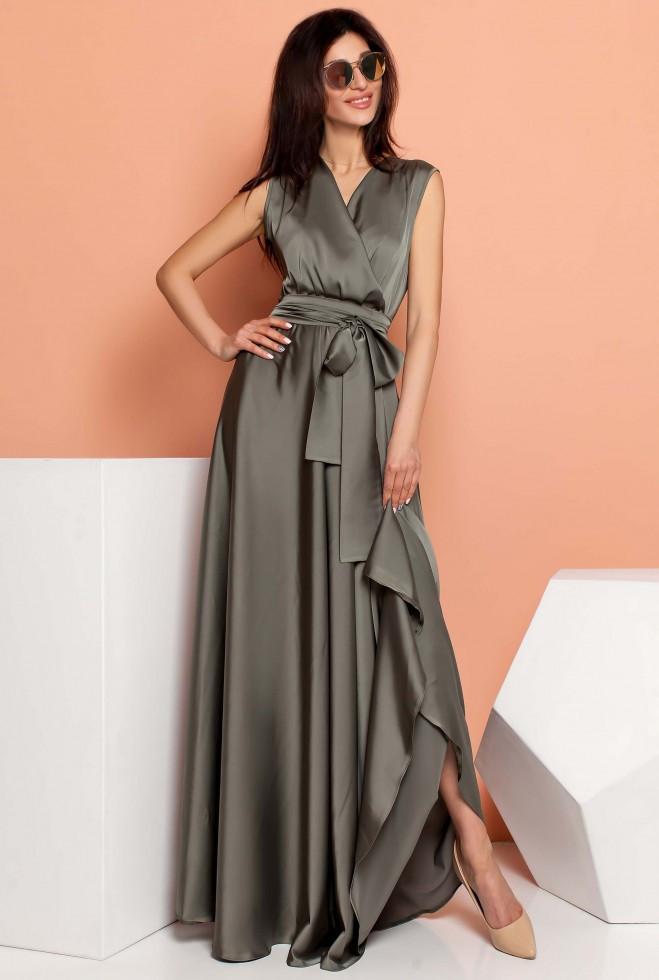 Платье Фурор хаки l