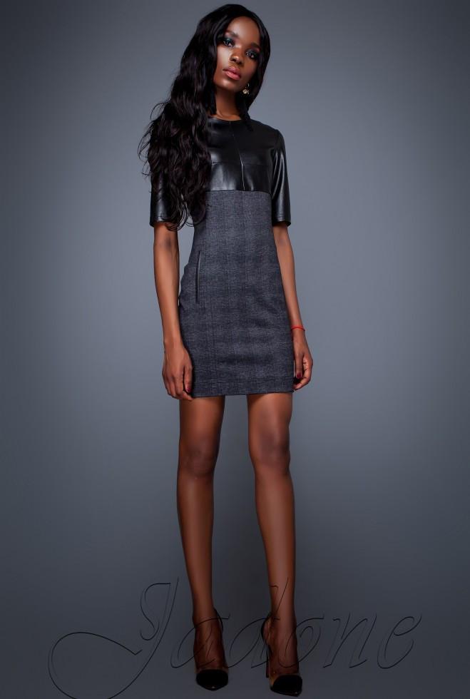 Платье Марни черный xl