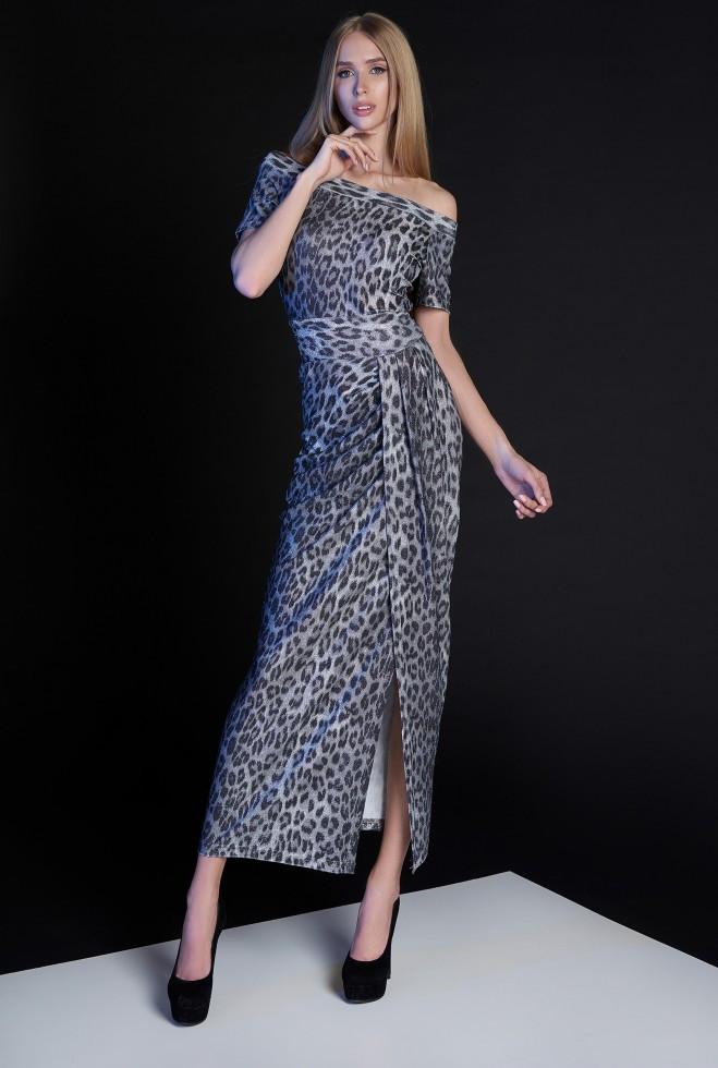 Платье Айша серый m