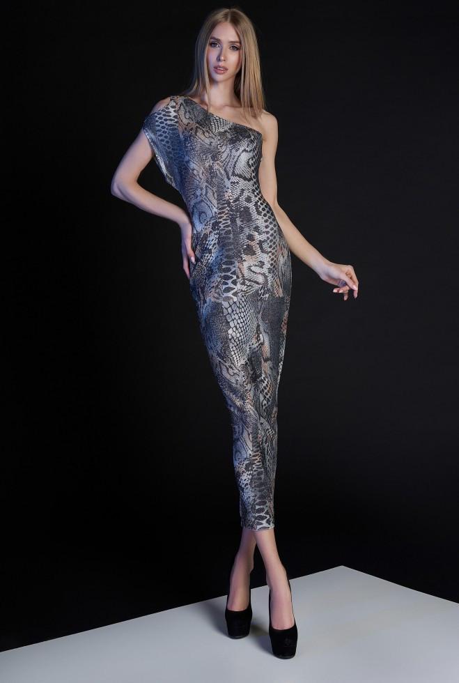 Платье Селена комбинированный xl