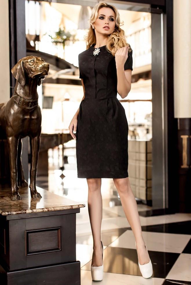Платье Мовалли черный l