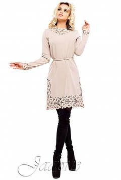 Платье Фарина бежевый s