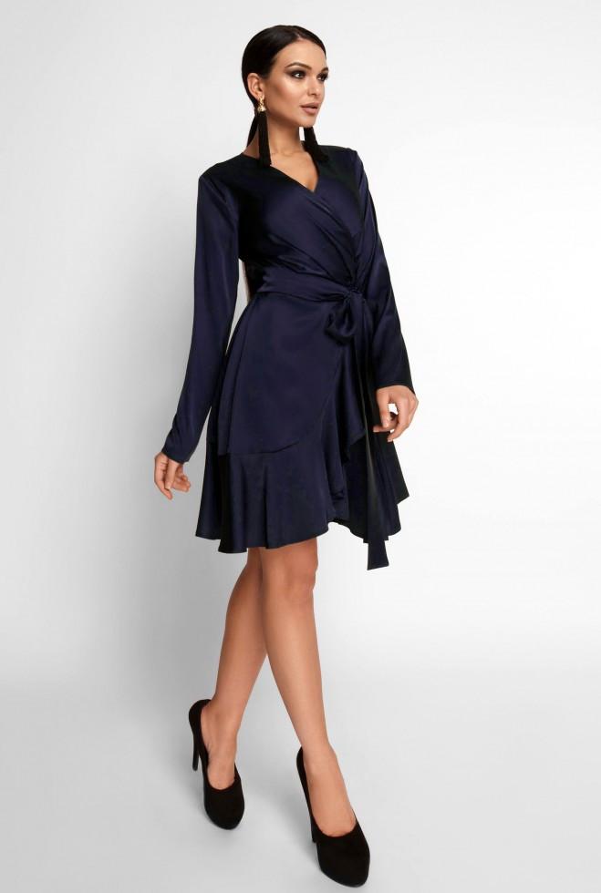 Платье Арина тёмно-синий l