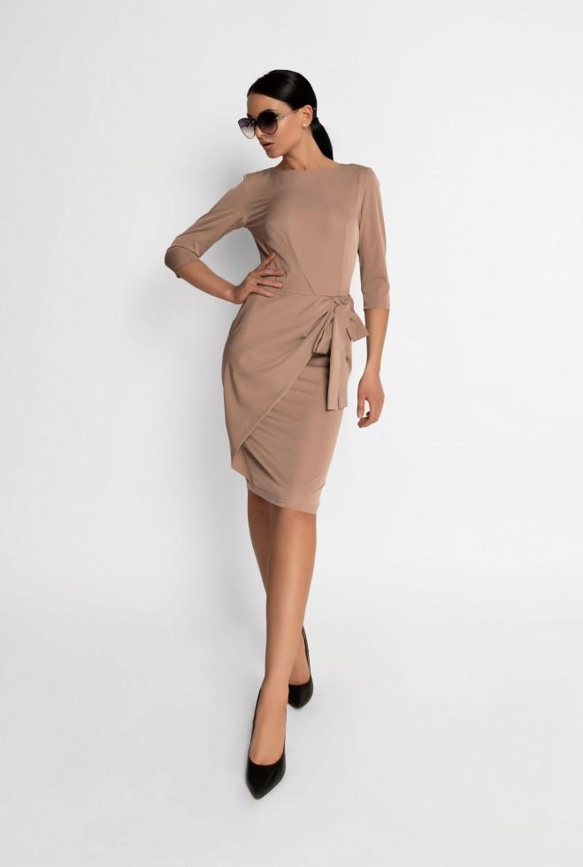 Платье Мари бежевый m