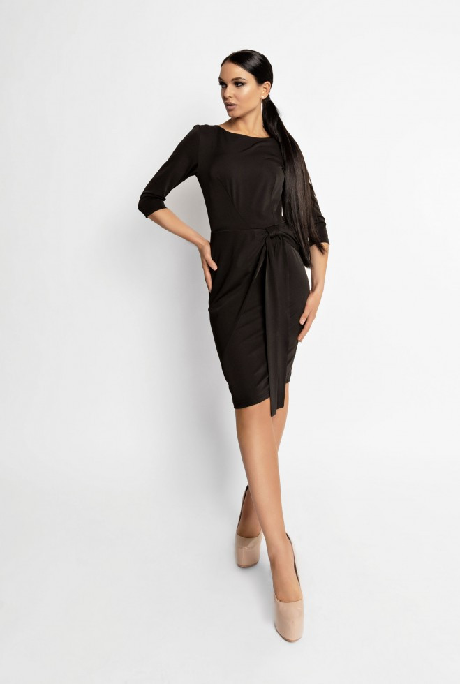 Платье Мари черный m