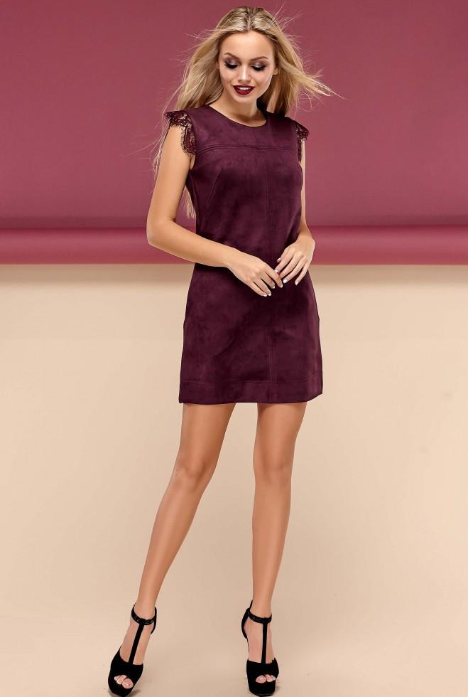 Платье Кайли марсала s