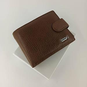 Кожаный мужской кошелек портмоне двойного сложения Balisa B86-409.
