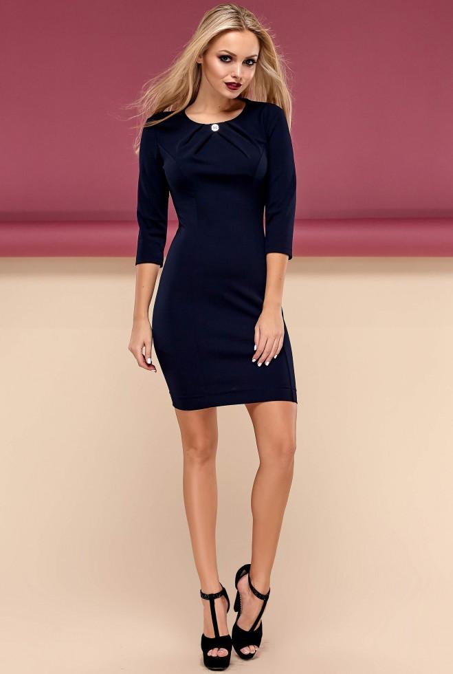 Платье Шейла тёмно-синий s