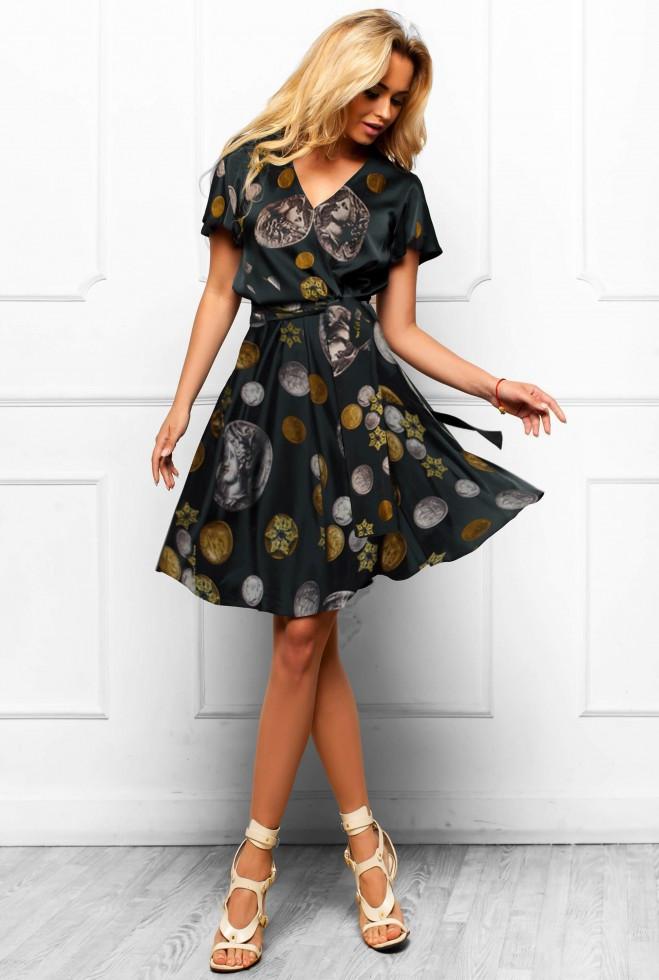 Платье Франческа черный l