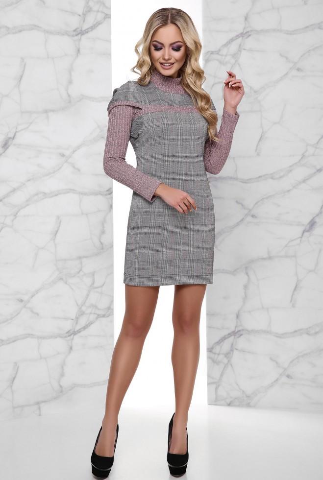 Платье Эмма розовый xl