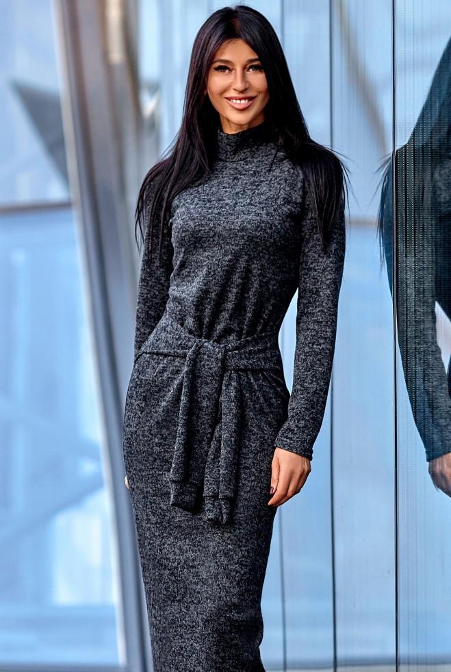 Платье Линда черный m