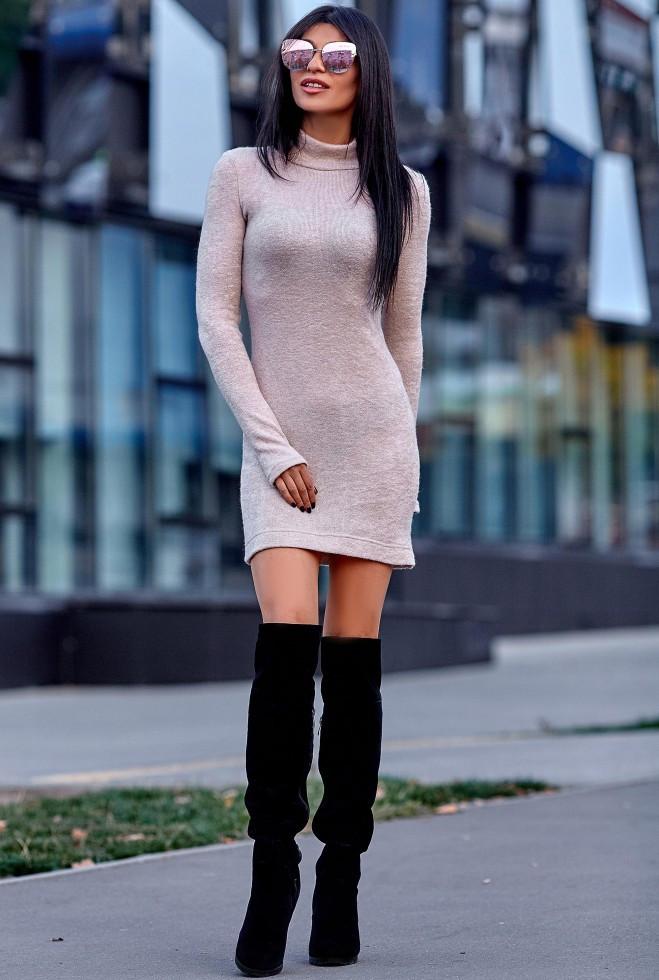 Платье Айлин бежевый m