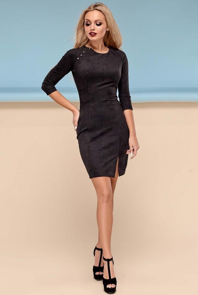 Платье Медисон черный xl