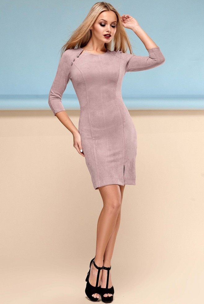 Платье Медисон бежевый xl