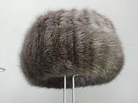 Жіноча модна норкова гумка на голову