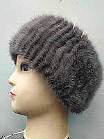 Гумка жіноча норкова на голову