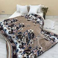 Покрывало с подушками цветы
