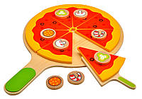 4100115 Набор для приготовления пиццы деревянный (18эл.)