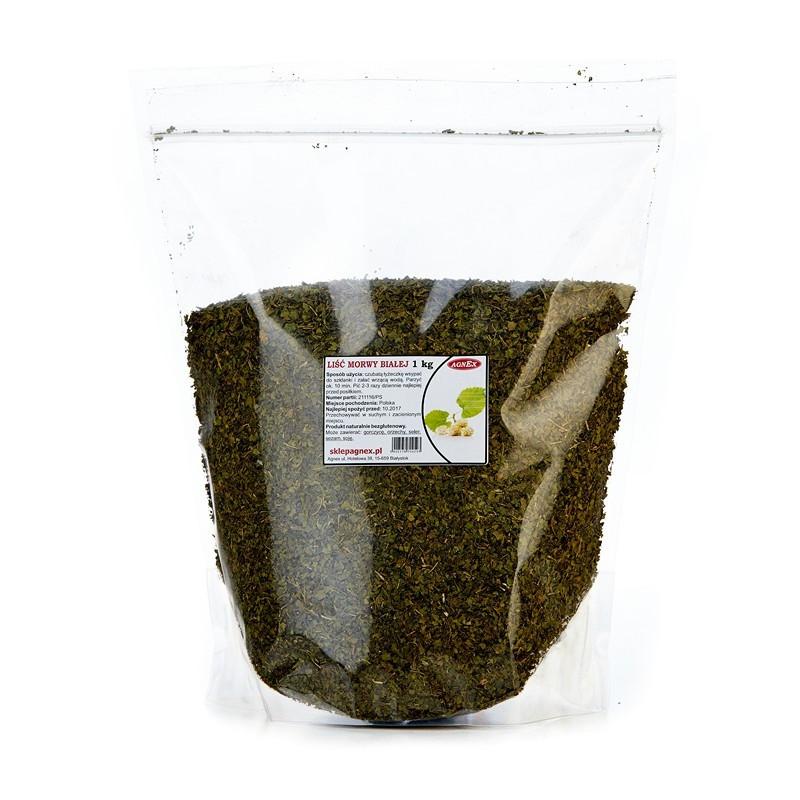 Листья шелковицы сушеные 1 кг, Agnex