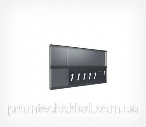 Касета цін А7L формату – це цінник в пластиковому корпусі з блоками складальних цифр. Даний виріб має 4 вид