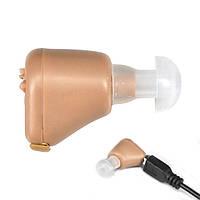 Внутриушной слуховой аппарат AXON K-88 усилитель слуха с зарядкой и аккумулятором hubtirP79935, КОД: 1913347