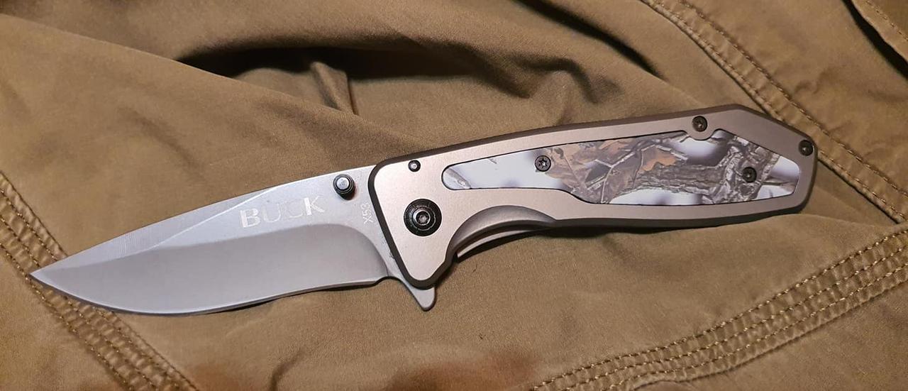 Охотничий складной нож HUNTER OAK #2 для охоты, рыбалки, туризма
