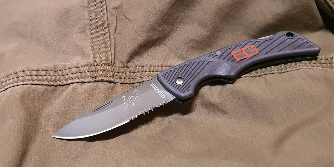 Охотничий складной малый нож реплика Gerber 115 для охоты, рыбалки, туризма