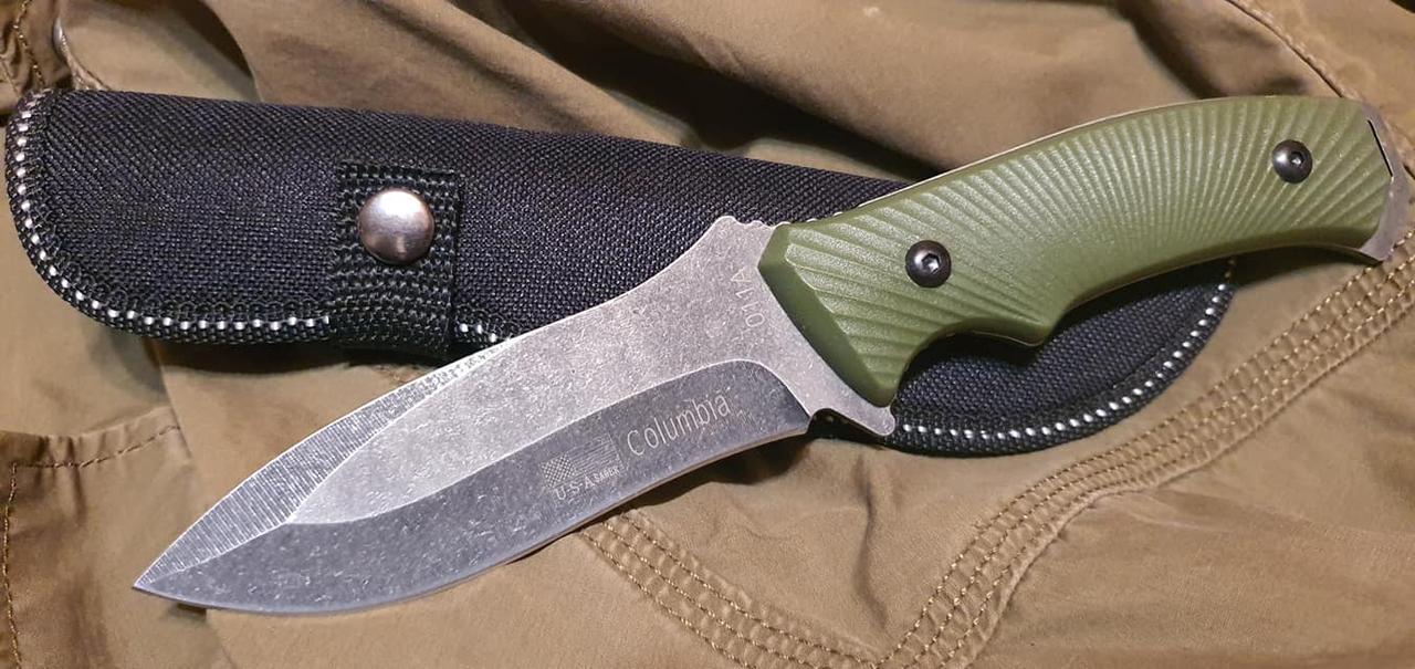 Охотничий/туристический нож Columbia 011A реплика для охоты, рыбалки, туризма